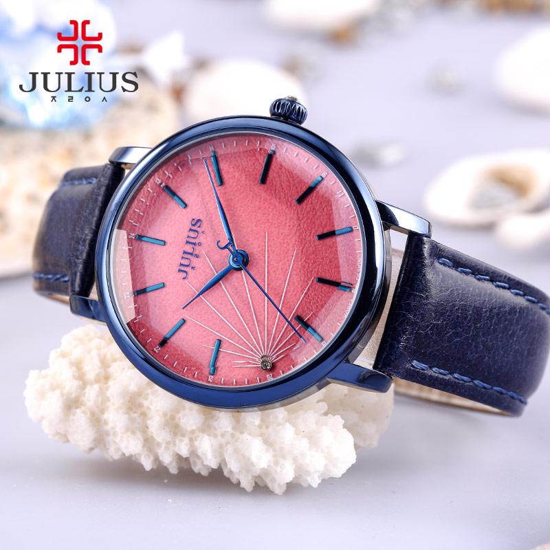 888 JA 石英机芯手表时尚防水女日韩腕表 2016 聚利时 Julius 包邮