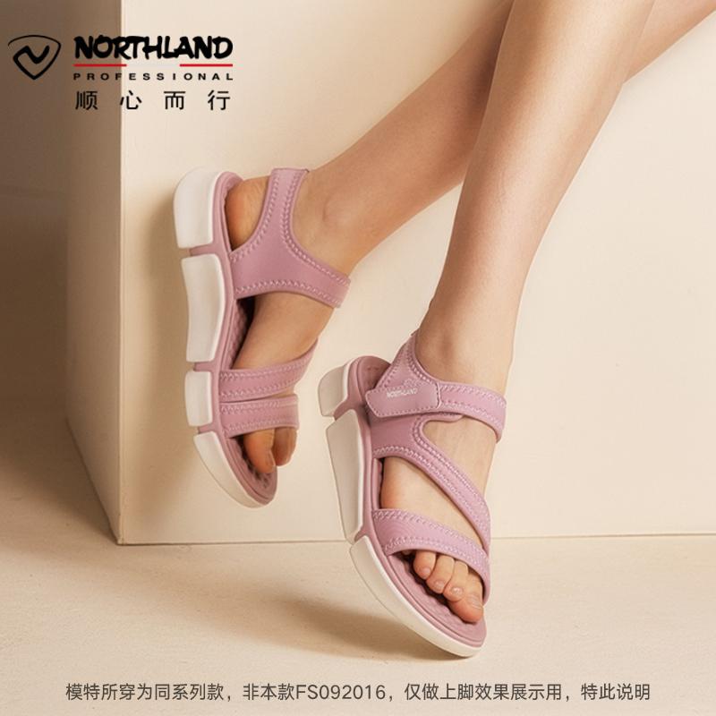 NORTHLAND 诺诗兰 女士软底凉鞋沙滩鞋 FS092016 2色