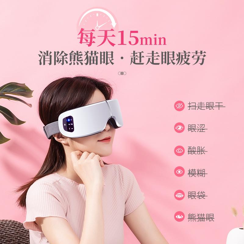 蒸汽眼睛罩充电热敷袋舒缓缓解疲劳眼贴神器发热加热去黑眼圈眼罩