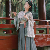 Hua Xiaoru / Banxia / Collect Wei Jin Feng Han elements improved Hanfu one-piece waist waist skirt non-costume summer women