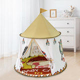 Children's tent baby baby home house indoor game Indian lion castle dollhouse toys for boys and girls