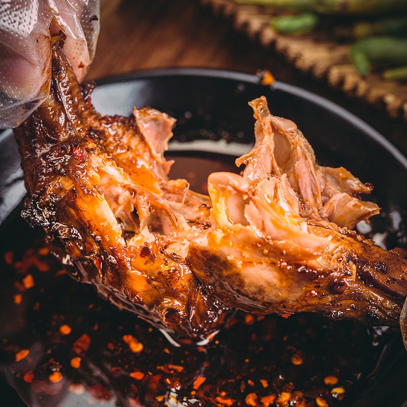 佐冷馋双流老妈麻辣兔头成都冷吃兔子肉四川特产兔肉即食小吃零食