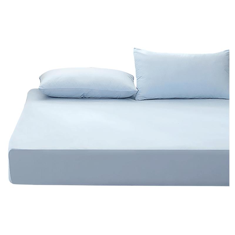 紫罗兰防水隔尿全棉床笠单件1.8m床罩席梦思保护套1.5纯棉床垫套