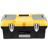Hardware toolbox multi-functional maintenance tool hand-held large plastic electrician home art car storage box