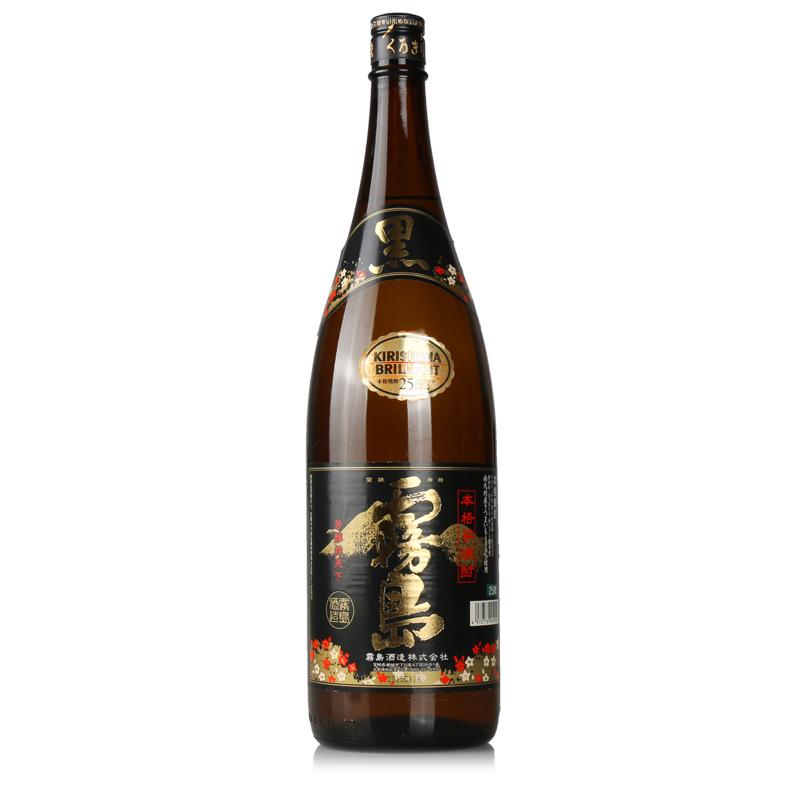 进口清酒 1.8L 日本烧酒黑雾岛本格芋烧酎芋烧酒甘薯烧酒
