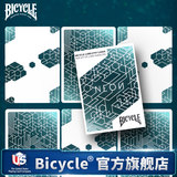 Bicycle bicycle playing card tally-ho flower cut card NEON / urban neon
