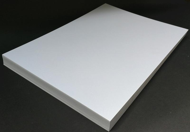 300g250克A4/A3+珠光名片纸 激光打印卡纸 冰白珠光纸 特种名片纸