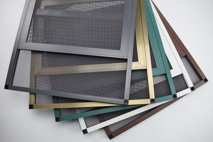 定制推拉平移三趟金刚网纱窗门隐形防蚊防护盗铝合金不锈金钢纱窗