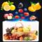 国庆热卖邮政5号保温泡沫箱蔬菜保鲜冷藏箱水果密封盒生鲜快递箱