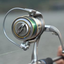 纺车轮 渔轮 全金属鱼线轮路亚海竿远投海杆轮不锈钢矶钓轮钓鱼轮