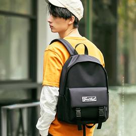 森马书包女大容量旅行百搭背包大学生中学生简约双肩包男韩版高中