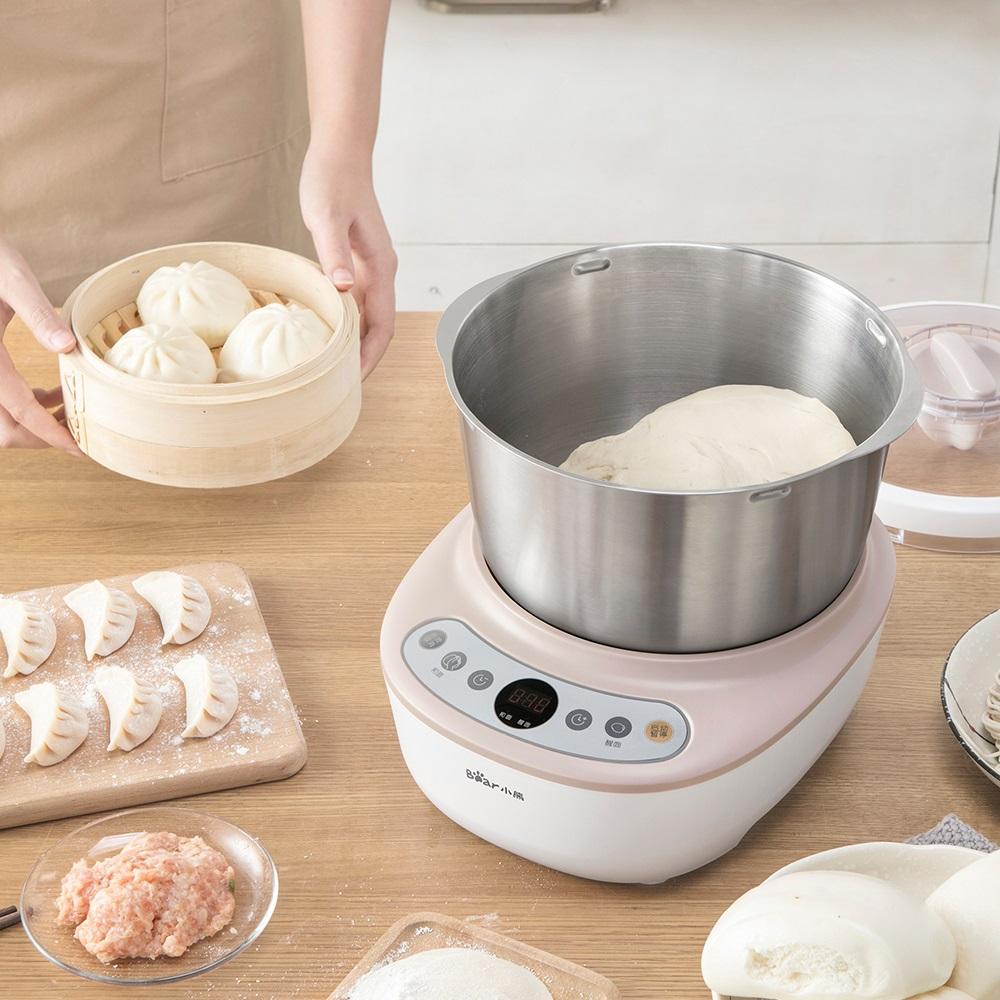 全自动电动和面机家用搅拌机揉面粉机厨师机 A50B1 HMJ 小熊 Bear