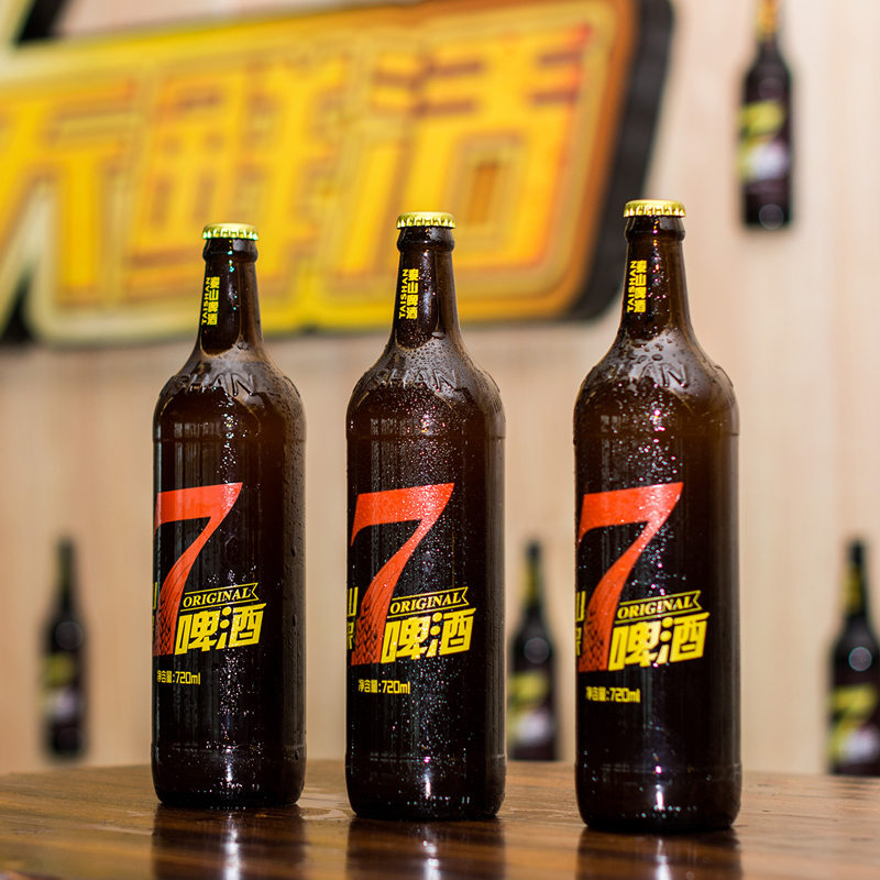 泰山啤酒 瓶整箱 P6 ° 10 720ml 天鮮活 7 泰山原漿啤酒