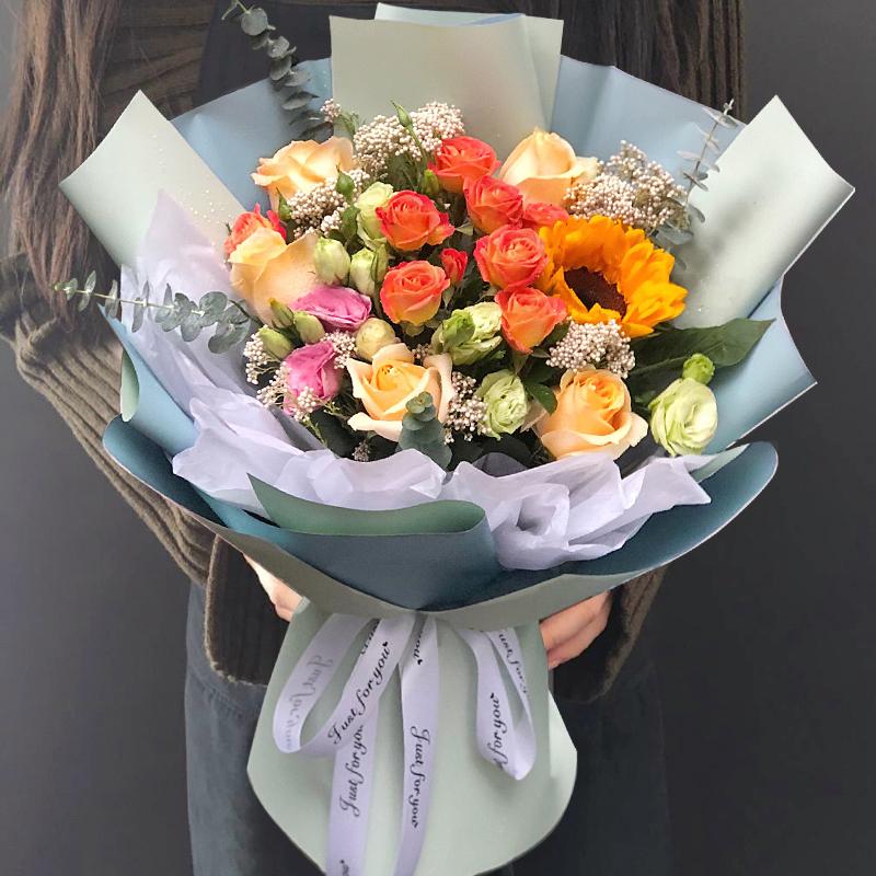 七夕情人节抚州鲜花同城速递红玫瑰花束配送南丰临川花店生日送花