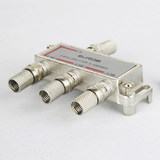 Ou Ben Cable TV Splitter One-to-Three Splitter CCTV Signal Splitter Inch