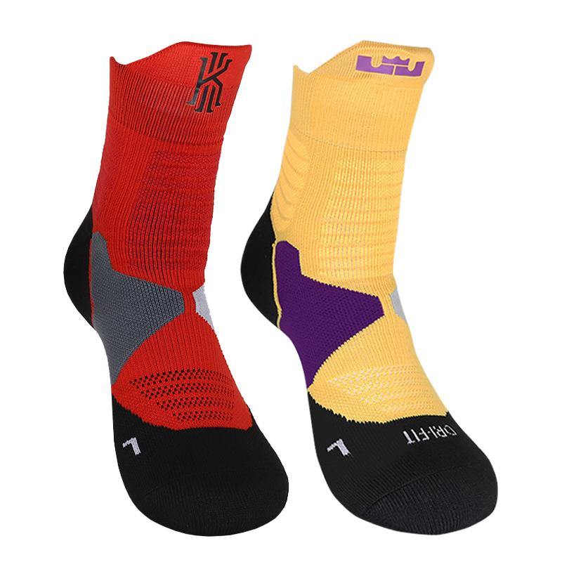 篮球精英袜欧文高帮中筒蓝球袜子男士款科比专业加厚毛巾底运动袜
