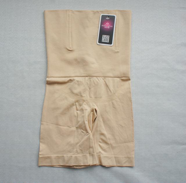苏芙蔓曼产后收腹裤薄款夏秋高腰塑身衣束腰美体三角裤加长 裤