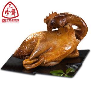 三珍斋 叫花鸡400g 烧鸡卤味乌镇特产卤菜真空酱鸡烤鸡熟食零食品