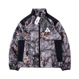 PALACE ZIP OFF SHELL TOP LOGO triangular leaves detachable sleeves windbreaker jacket