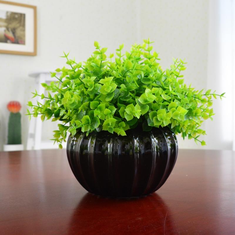 绢花干花花束塑料假花仿真花套装摆件摆设装饰客厅家居绿植物盆栽