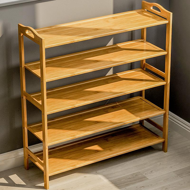 鞋架子简易家用省空间经济型实木多功能宿舍多层门口小鞋柜置物架