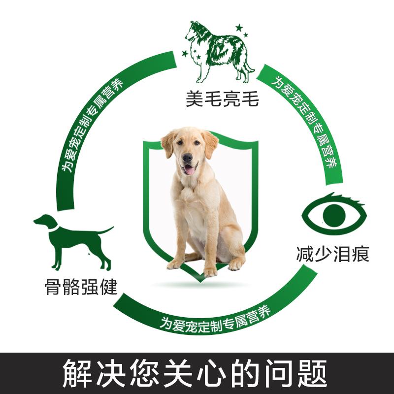 爱优粮犬粮10KG通用型成犬中国金毛狗粮犬主粮 宠物用品 无优惠券