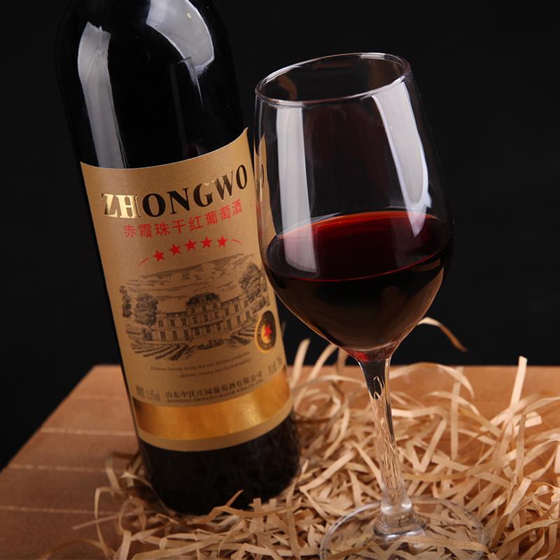 新款赤霞珠干红葡萄酒中沃酒庄精品红酒婚礼手札专用一箱 2017