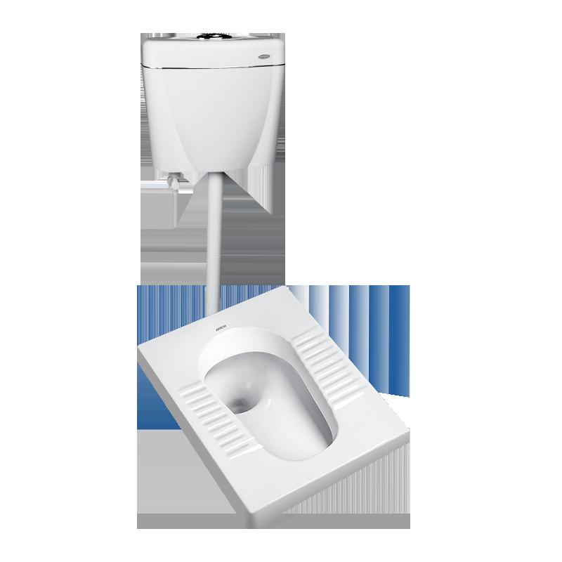 箭牌蹲便器家用蹲坑式水箱套装卫浴整套卫生间蹲厕便池防臭大便器