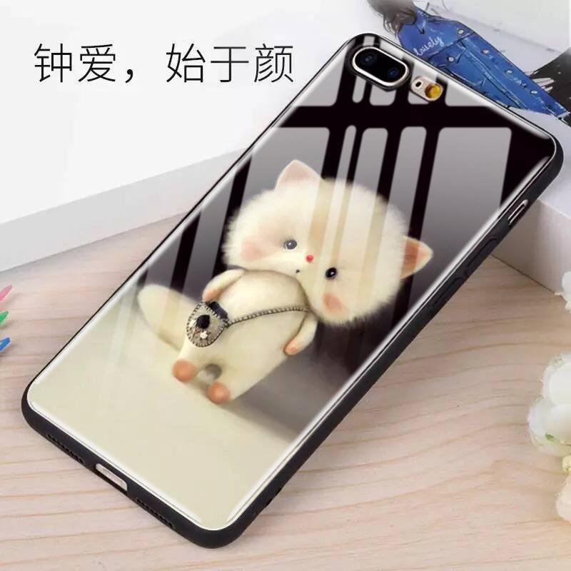 一家不会撞壳的店苹果8plus手机壳iphonex玻璃6s套11pro卡通8p新款plus女款6网红7p潮牌7全包x防摔xs可爱max