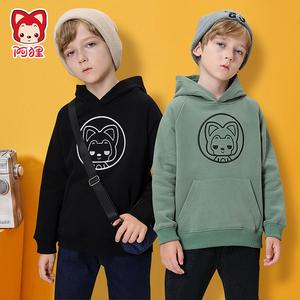 【阿狸】阿狸儿童卫衣加绒加厚保暖上衣洋气