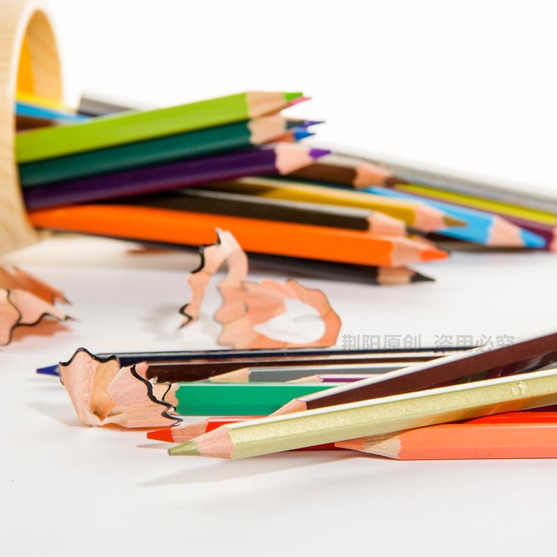 德国辉柏嘉72色油性彩铅36色48色100色红辉城堡彩色铅笔手绘初学者彩铅笔专业学生用画笔套装绘画全套组合