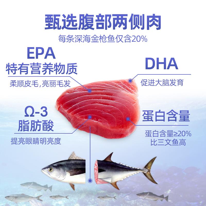 泰国皇室进口猫粮成猫增肥发腮暹罗猫海鲜王国深海鱼1.36kg*2通用优惠券