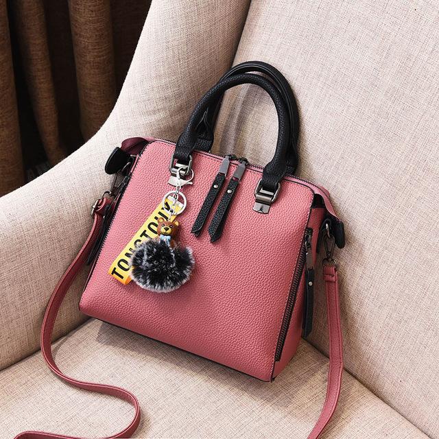上新品拼色欧米新款女士韩版定型甜美时尚女包斜挎单肩手提包