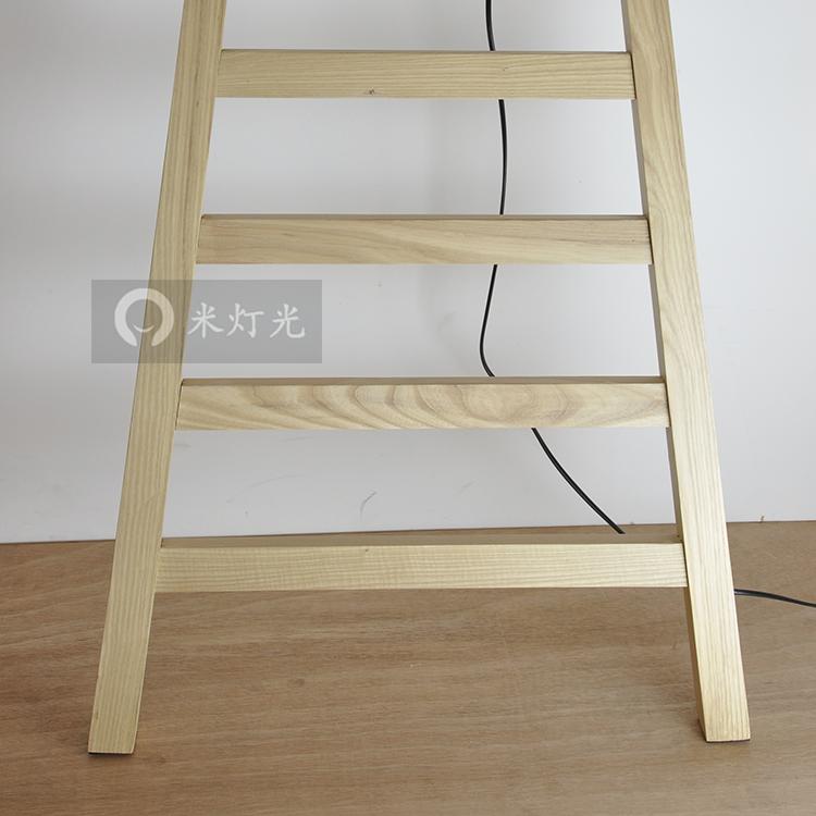 一米灯光宾果北欧宜家现简约落地灯卧室书房创意个性梯子落地灯