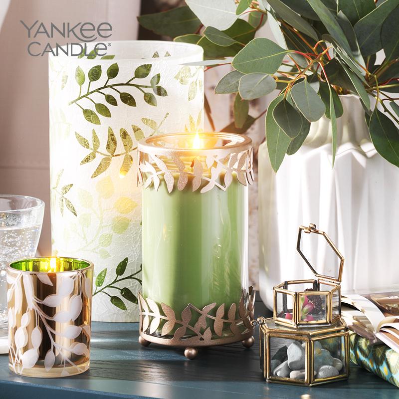 yankee candle扬基进口香薰蜡烛助眠浪漫高档生日结婚伴手礼物