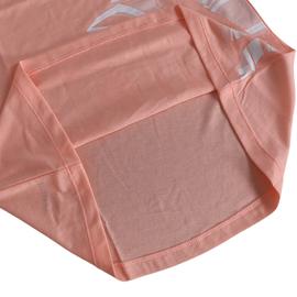 阿迪达斯短袖女装2020夏季新款粉色宽松透气运动休闲T恤DN8955