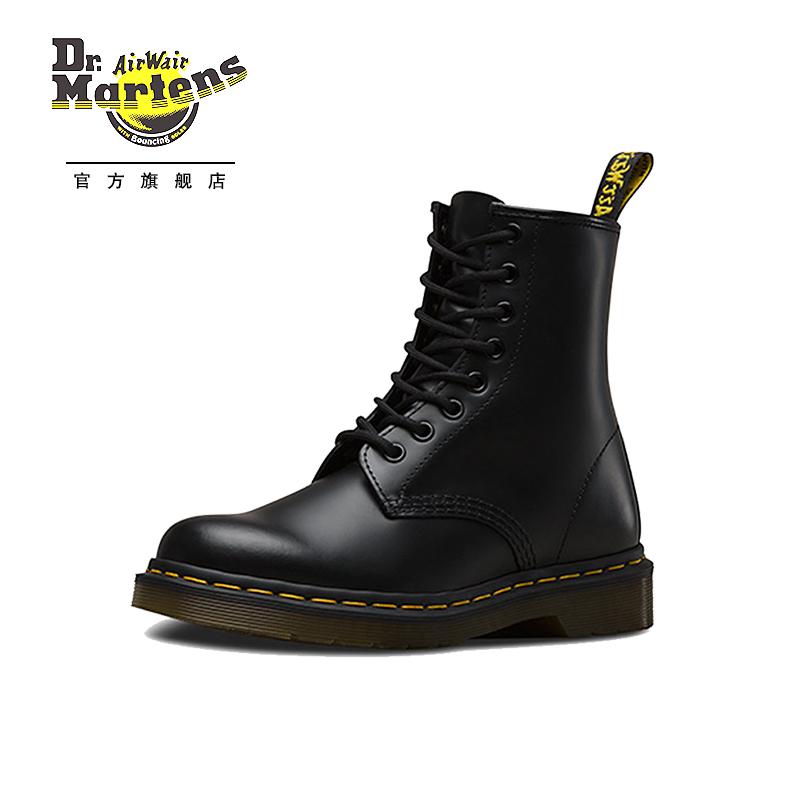 孔马丁靴明星同款英伦风短靴 8 经典款光面 1460 马汀博士 Dr.Martens
