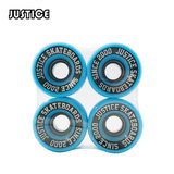Justice boiling point skateboard double Alice skateboard professional round brush Street