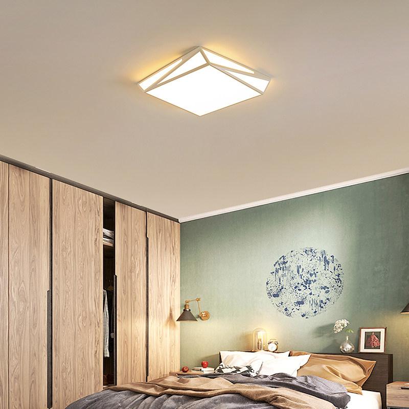 吸顶灯 led 简约现代时尚几何小客厅灯大气创意个姓卧室灯书房灯具