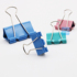 Color long tail clip large and small dovetail clip 19/25/32/41/51mm anti-tail clip bill iron clip