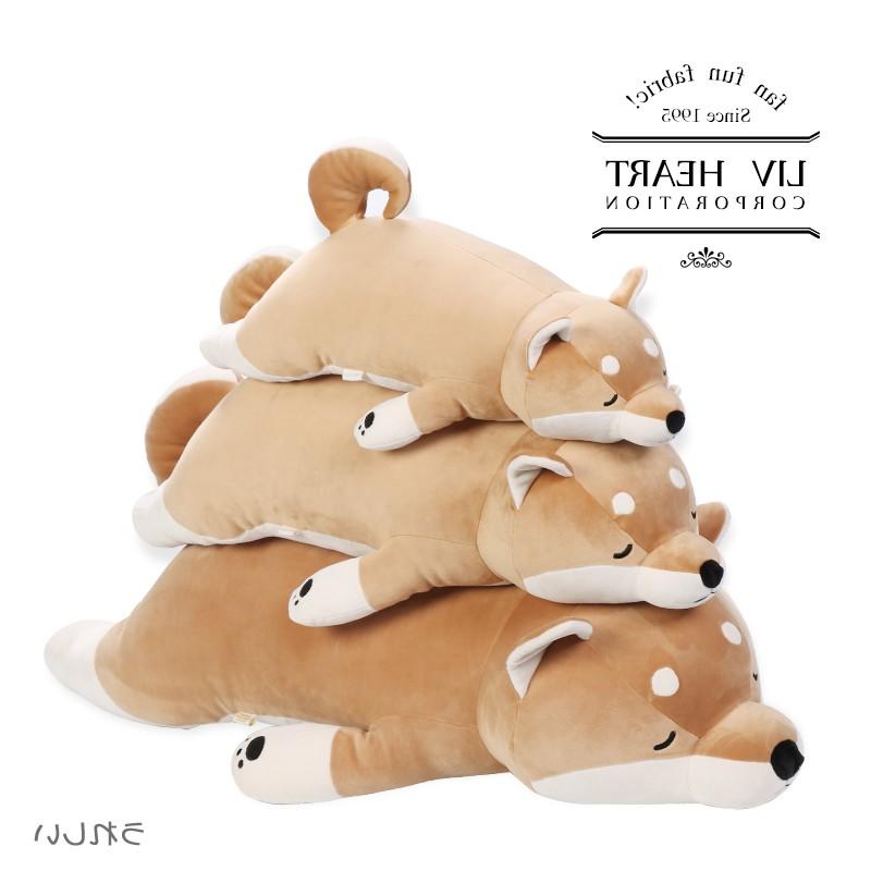卡小姐秋田犬毛绒玩具公仔呆萌柴犬玩偶可爱抱枕娃娃情人 LL 日本购