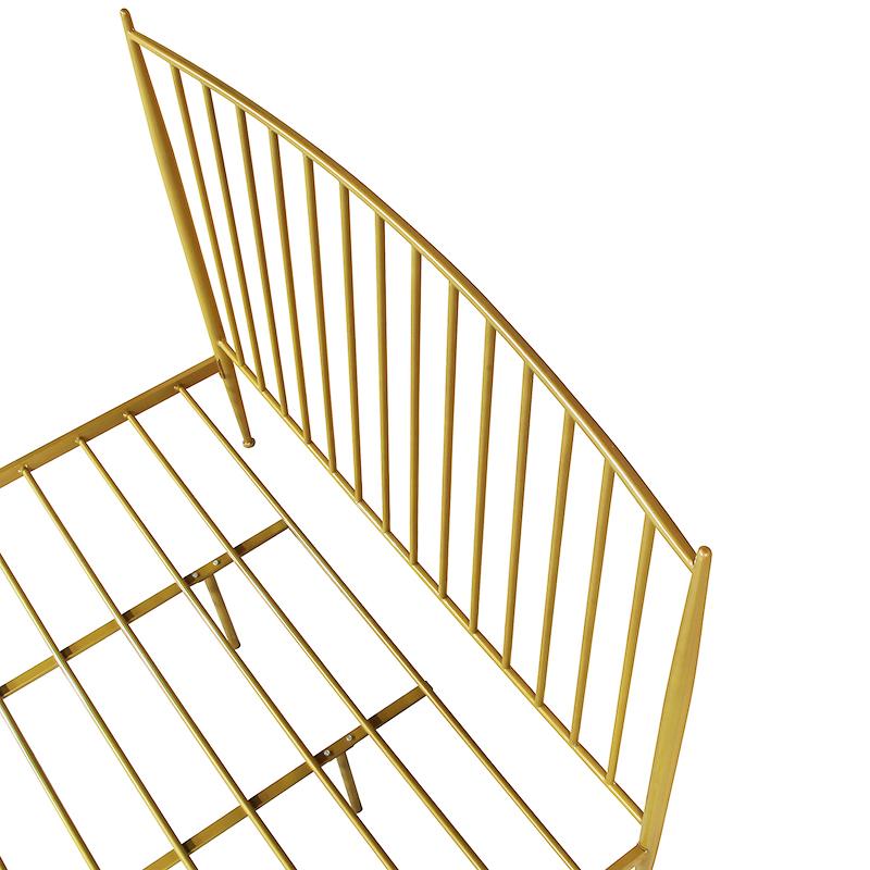 米双人床 1.8 米 1.5 米单人床 1.2 现代简约铁艺床酒店公寓床环保铁床