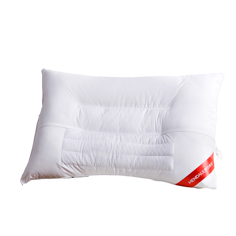 梦洁家纺健康荞麦护颈枕芯枕头单人植物养护决明子单人枕
