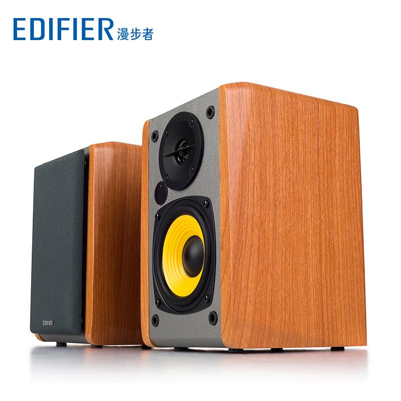 Edifier/漫步者 R1000BT蓝牙音箱无线台式电脑低音炮木质2.0音响
