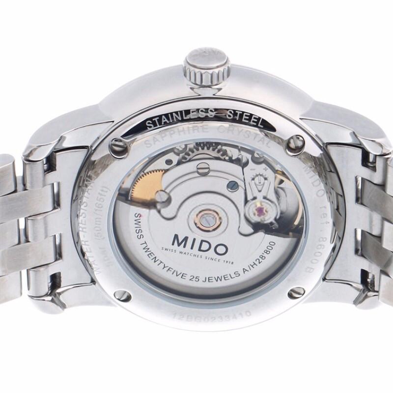 MIDO美度贝伦赛丽系列钢带机械男士腕表M8600.4.14.1