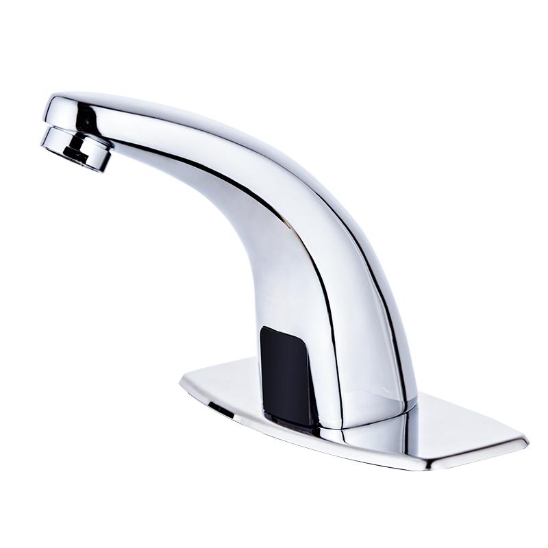 全铜智能单冷热感应水龙头全自动红外线感应式洗手器家用面盆龙头