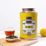 Jinfan tea, lemon black tea, Yunnan ancient tree, fragrant time, Yunnan red fruit tea, 150g boutique gift jar in bulk