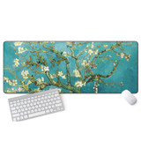 Gaming mouse pad super thick catcher Chinese wind lovely Preface inspirational laptop desk pad