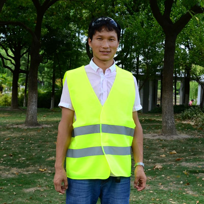 红黄橘色 环卫服 环卫马甲 反光背心 反光衣环卫工作服  保洁服