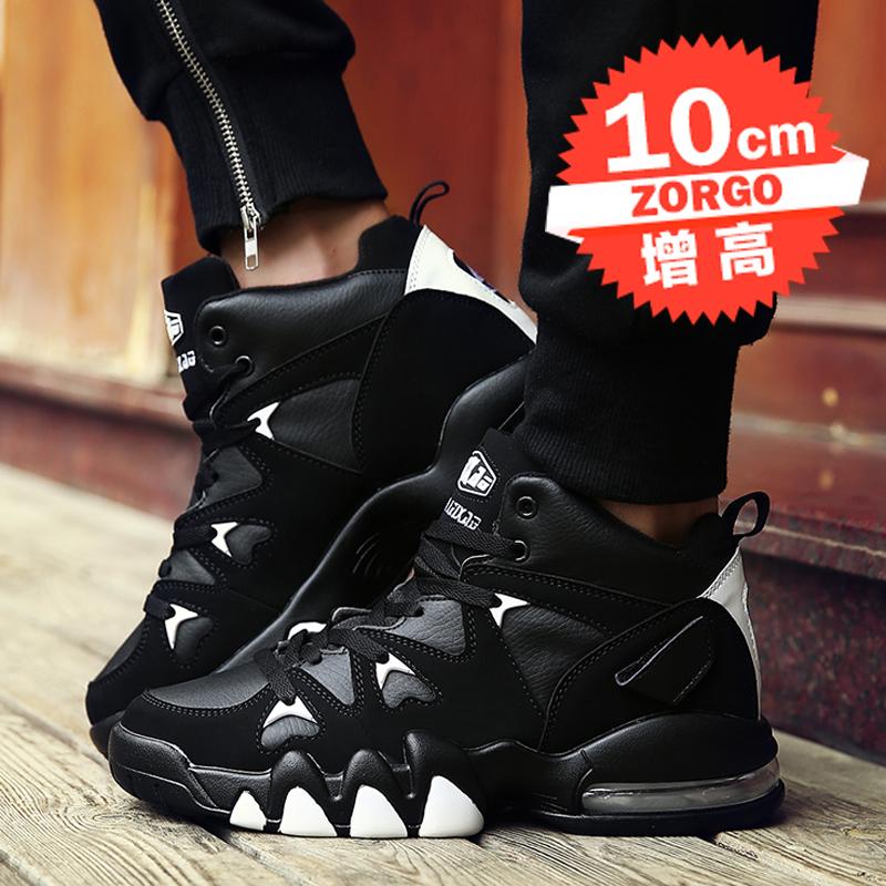 夏季內增高鞋男10cm運動鞋男韓版潮流內增高男鞋8cm6休閒鞋籃球鞋